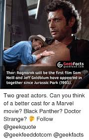 Jurassic Park Birthday Meme - 25 best memes about jeff goldblum jeff goldblum memes