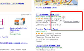 Maps For Business Cards Ways B2b Ppc Advertisers Deal With Ad Blindness On Google Adwords
