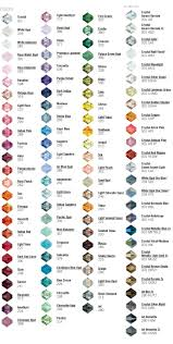 all swarovski crystal necklace images Crystal colors and names beading jewelry tutorials pinteres jpg