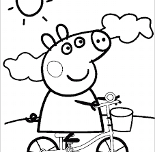 coloring peppa pig coloring pages fresh photography tablet