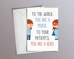 Congratulations Nurse Card Nurse Cards Etsy