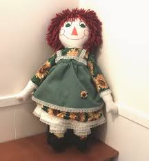 how to make a raggedy ann doll 13 steps