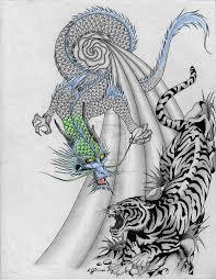 tiger tattoo designs pictures symbolism dragon and tiger tattoo symbolism of change