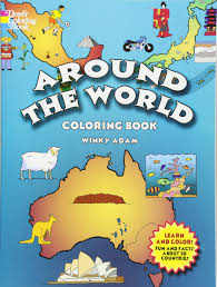 Books About Flags Around The World Coloring Book Dover History Coloring Book