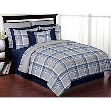 Navy Blue And Gray Bedding Bedroom Queen Size Comforter Sets To Give Your Bedroom Feel