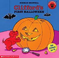 Clifford Big Red Dog Halloween Costume Clifford U0027s Halloween Norman Bridwell