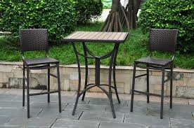 Bistro Set Bar Height Outdoor by Bistro Sets