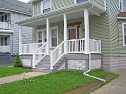 Exterior White Wood Paint - exterior heavenly image of front porch decoration using sage green