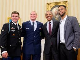 White House Tours Obama by French Train Attack Heroes Meet President Obama At The White House