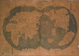 Chinese Map Of America by Map Fuels Debate Did Chinese Sail To New World First