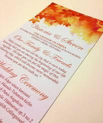 Order Wedding Ceremony Program Fall Wedding Ceremony Program Tea Length Program