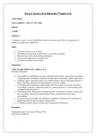 Retail Associate Resume Example by Resume Admin Assistant Resume Examples Resume Personal Interests