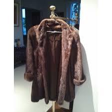 jean louis scherrer robe de chambre manteau jean louis scherrer fourrure vison m marron acajou