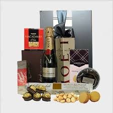 Champagne Gift Basket The Finest Gourmet Gifts Hampers Delivered To Your Door