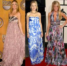 the latest trend of evening maxi dresses