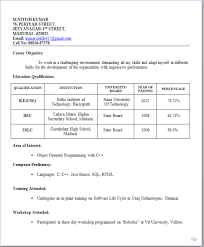 Resume Sample For It Jobs by Drishti Kejriwal Google