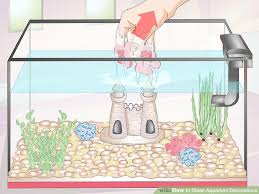 how to clean aquarium decorations 15 steps with pictures