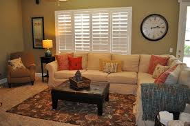 small family room decorating ideas with carpet design and large