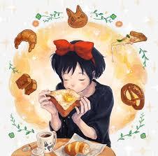 pretzel delivery majo no takkyuubin s delivery service image 1550784