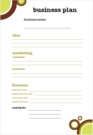company business plan templates