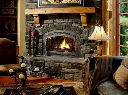 table lamps decorating awesome rustic fireplace ideas with