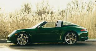 porsche 911 dark green eye candy irish green porsche 991 targa