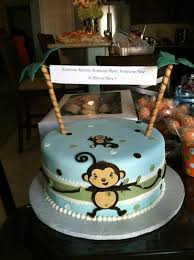 monkey baby shower cake best baby shower monkey decorations bedroom ideas