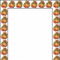 thanksgiving page border microsoft word divascuisine