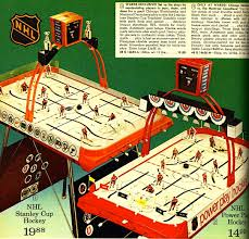 1972 coleco hockey games from 1972 ward christmas catalog