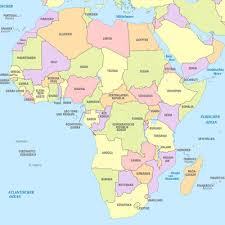 map of africa with country names the on this site helps you review the countries in the