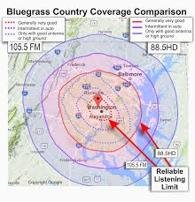 Map Radius I Want To Listen To Bluegrass Country In Public And On The Go