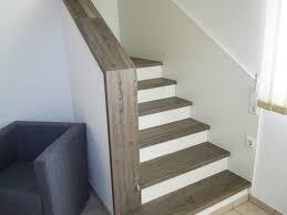 treppe mit laminat verkleiden trittstufen
