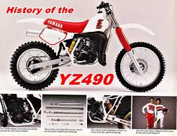 history of the yamaha yz490 1982 1990 dirtbikedudez youtube