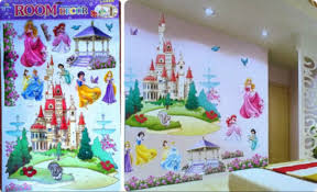 popular castle wall decal buy cheap castle wall decal lots from white princess dreaming castle wall decal art vinyl sticker kids girls nursery decor wall stickers