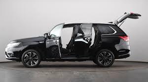 mitsubishi suv 2015 black used mitsubishi outlander 2 0 phev gx3h 5dr auto black