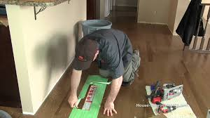Quick Fix For Squeaky Hardwood Floors by How To Repair Hardwood Flooring Youtube