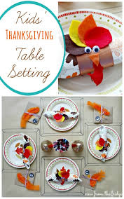 last minute thanksgiving dishes table setting ideas kid table