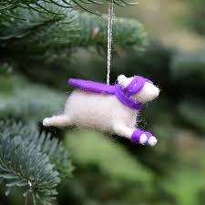 shop small 20 handmade ornaments for fiber artists makers