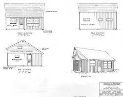 Cabin Blueprints Free Free Small Cabin Plans