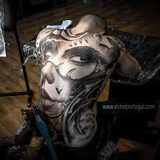 tattoo back face full back face best tattoo design ideas