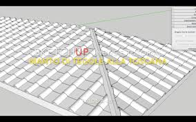 tetto padiglione sketchup tegole alla toscana tetti a padiglione