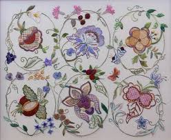 841 best crewel jacobean images on embroidery