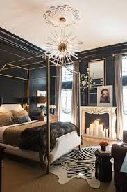 Gold Canopy Bed Gold Canopy Bed Eclectic Bedroom D Miller