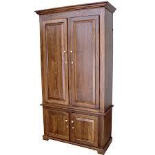 Amish Bookshelves by Amish Woodworking 50511b Portofino Ii 10 Gun Cabinet Solid