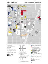Dart Dallas Map by Smu Campus Parking Map