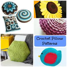 home patterns crochet pillow patterns to cozy up your home