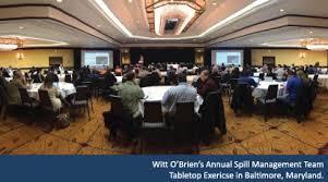 Table Top Exercise by Witt O U0027brien U0027s U2022 Witt O U0027brien U0027s 2015 Annual Spill Management