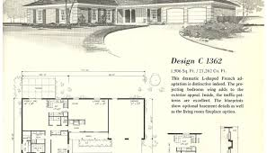 1960s ranch house plans ranch house floor plans luxamcc org