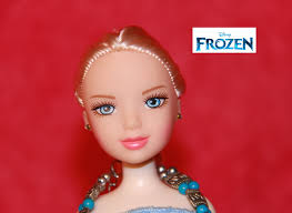 Halloween Baby Doll Makeup Tutorial by Frozen Elsa Makeup Tutorial Hair Braid Dress Up Costumes For Kids