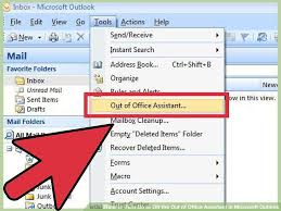 absence du bureau outlook 4 ways to turn on or the out of office assistant in microsoft